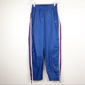 a7f1054b2f Nike Blue Trending Side Zip Windbreaker Pants M